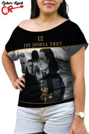 Blusinha U2 The Joshua Tree