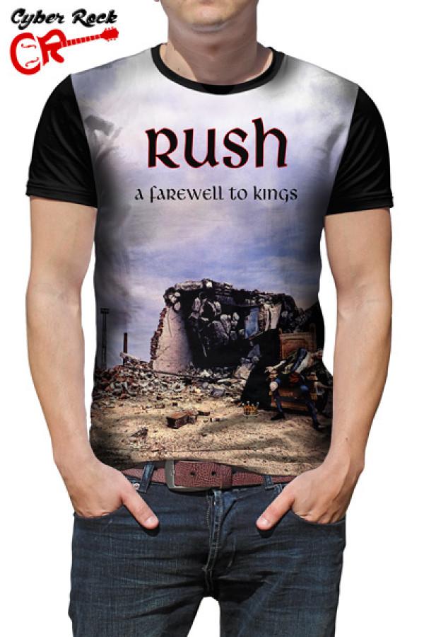 Camiseta Rush A Farewell to Kings