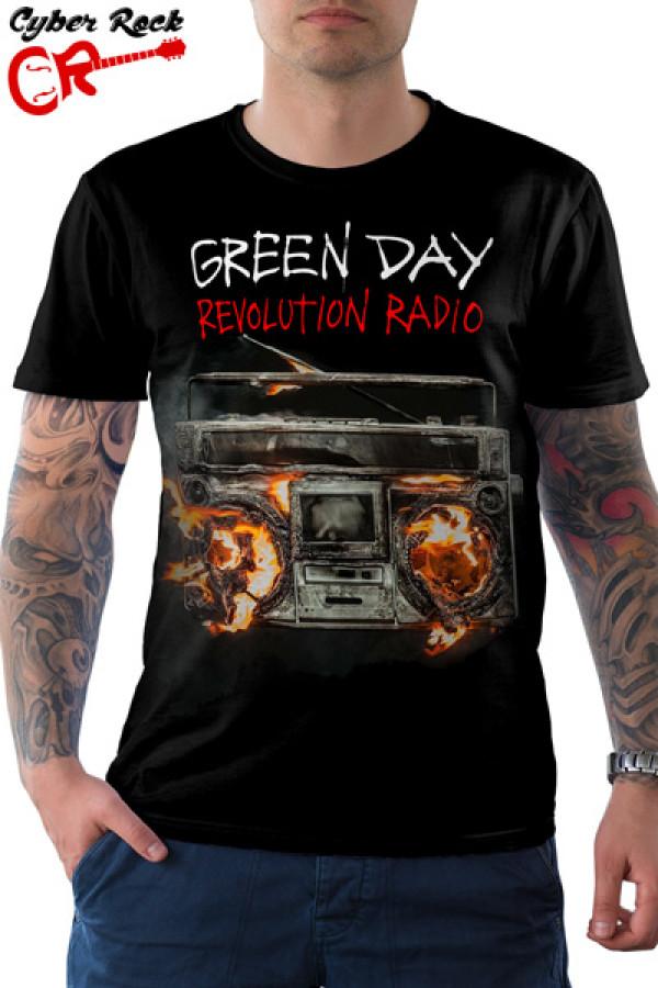 Camiseta Green Day Revolution Radio