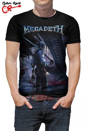 Camiseta Megadeth Distopia
