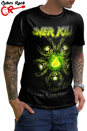 Camiseta Overkill the Wings of War