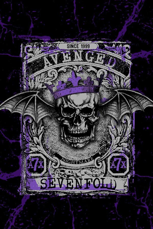 Camiseta-Avenged-Sevenfold-King
