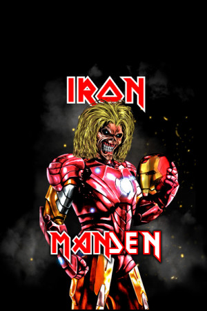 Blusinha Iron Manden