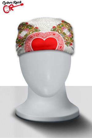 Bandana Heart Branca