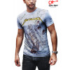Camiseta Metallica and Justice branca