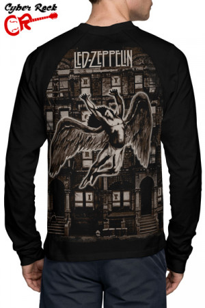 Raglan Manga Longa Led Zeppelin Physical Graffiti