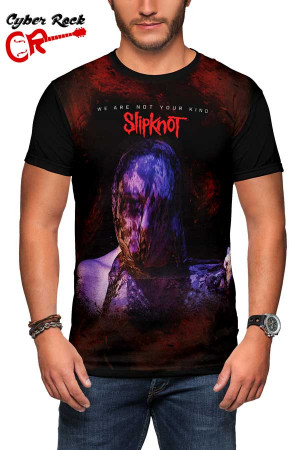 Camiseta Slipknot we are not your kind