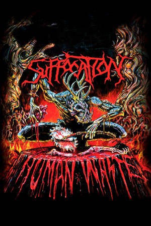 Camiseta Suffocation Human Waste