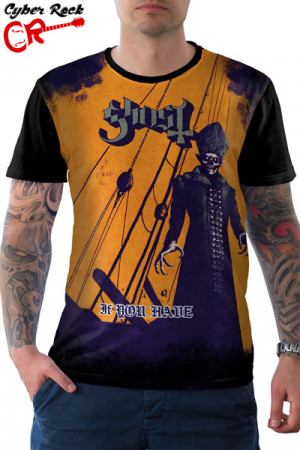 Camiseta Ghost bc If You Have
