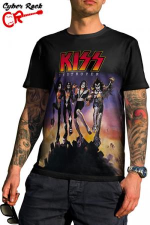 Camiseta KISS - Destroyer