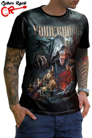 Camiseta Powerwolf The Sacrament of Sin