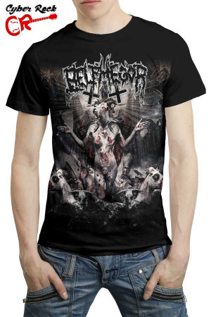 Camiseta  Belphegor Conjuring the Dead