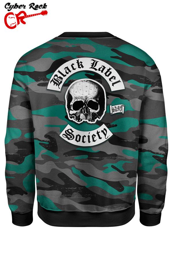 Blusa Moletom Black Label Society