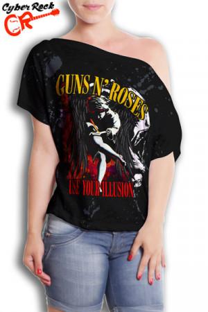 Blusinha Guns n Roses Use Your Illusion