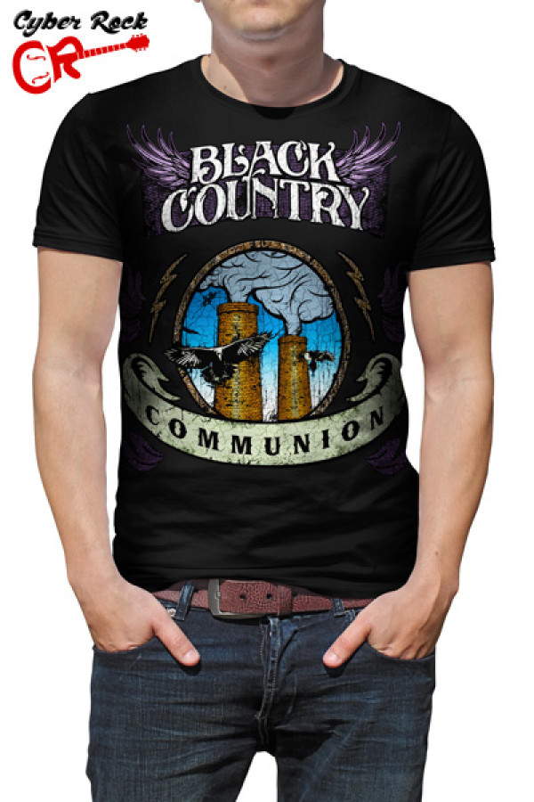 Camiseta Black Country Communion 2