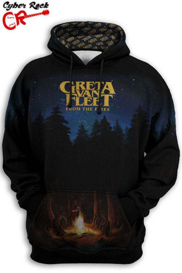Blusa Moletom Greta Van Fleet From The Fires