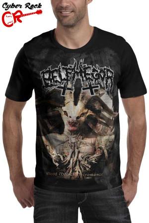 Camiseta Belphegor Blood Magick Necromance