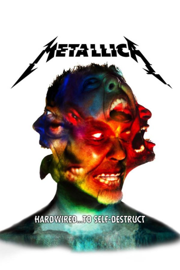 Camiseta Metallica Hardwired branca