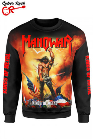 Blusa Moletom Manowar Kings of Metal