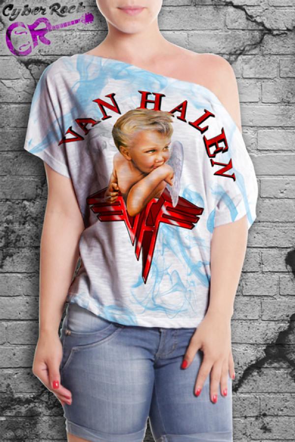 Blusinha Van Halen 1984
