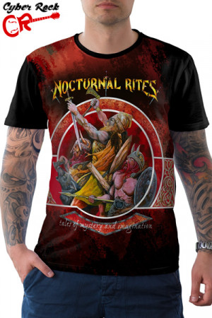 Camiseta Nocturnal Rites Tales of Mystery and Imagination
