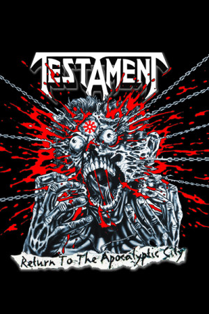 Camiseta Testament Return To The Apocalyptic City