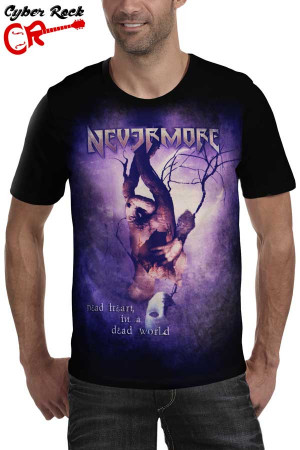 Camiseta Nevermore Dead Heart in a Dead World