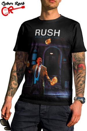 Camiseta Rush Hold Your Fire