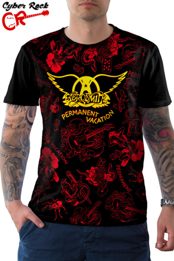Camiseta Aerosmith - Permanent Vacation