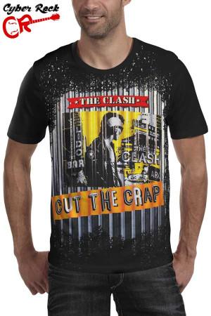 Camiseta  The Clash-Cut the Crap