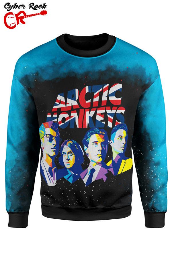 blusa moletom Arctic Monkeys