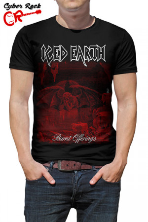 Camiseta Iced Earth Burnt Offerings