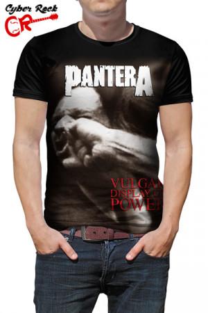 Camiseta Pantera Vulgar Display Of Power