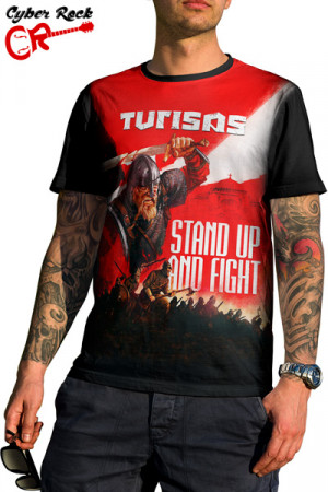 Camiseta Turisas Stand Up and Fight