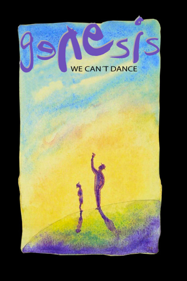 Camiseta Genesis We Can't Dance