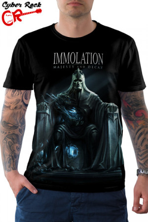 Camiseta Immolation Majesty And Decay