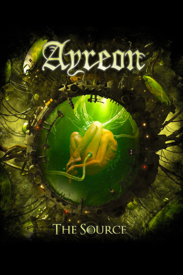 Camiseta Ayreon - The source