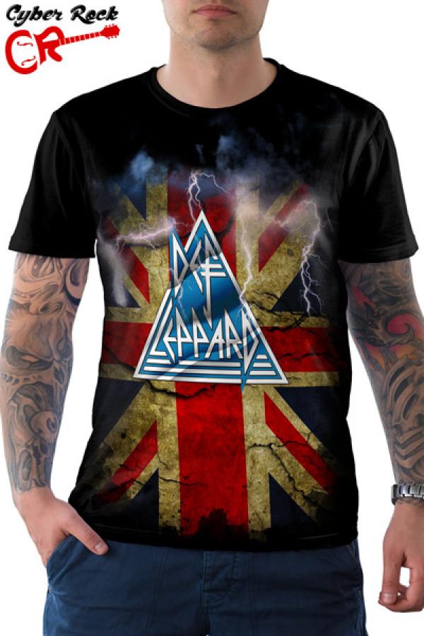 Camiseta Def Leppard