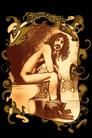 Camiseta Frank Zappa Bathroom