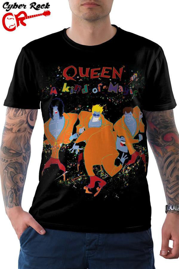 Camiseta Queen A Kind of Magic