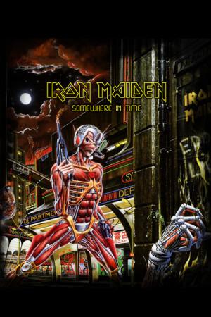 Camiseta Iron Maiden Somewhere in Time