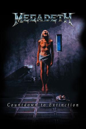 Camiseta Megadeth Countdown To Extinction