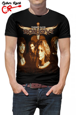 Camiseta Bon Jovi These Days