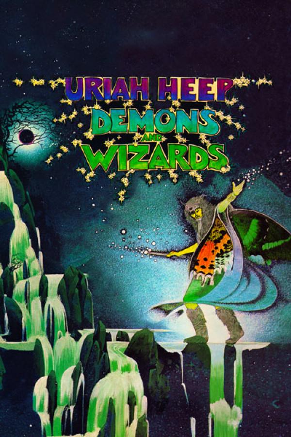 Camiseta Uriah Heep Demons Wizards