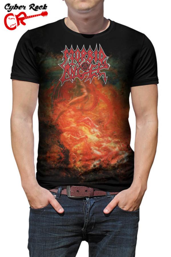 Camiseta Morbid Angel Blessed Are the Sick