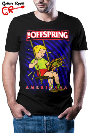 camiseta The Offspring Americana