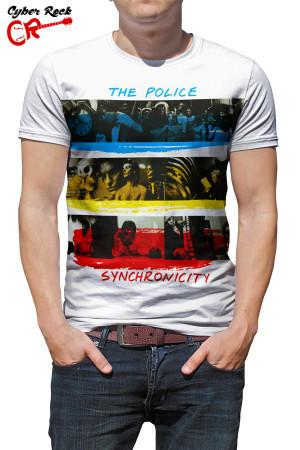 camiseta the police Synchronicity