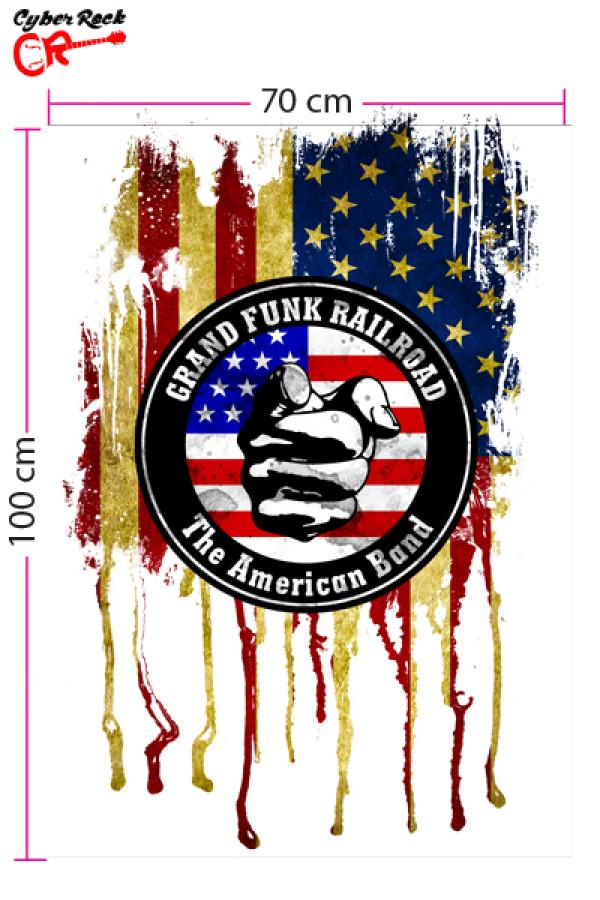 Bandeira Grand Funk Railroad