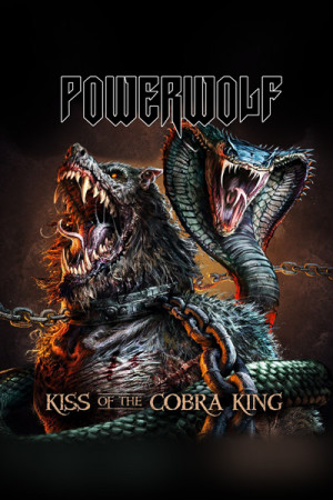 Camiseta Powerwolf Kiss of the Cobra