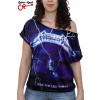 Blusinha Metallica Ride the Lightning